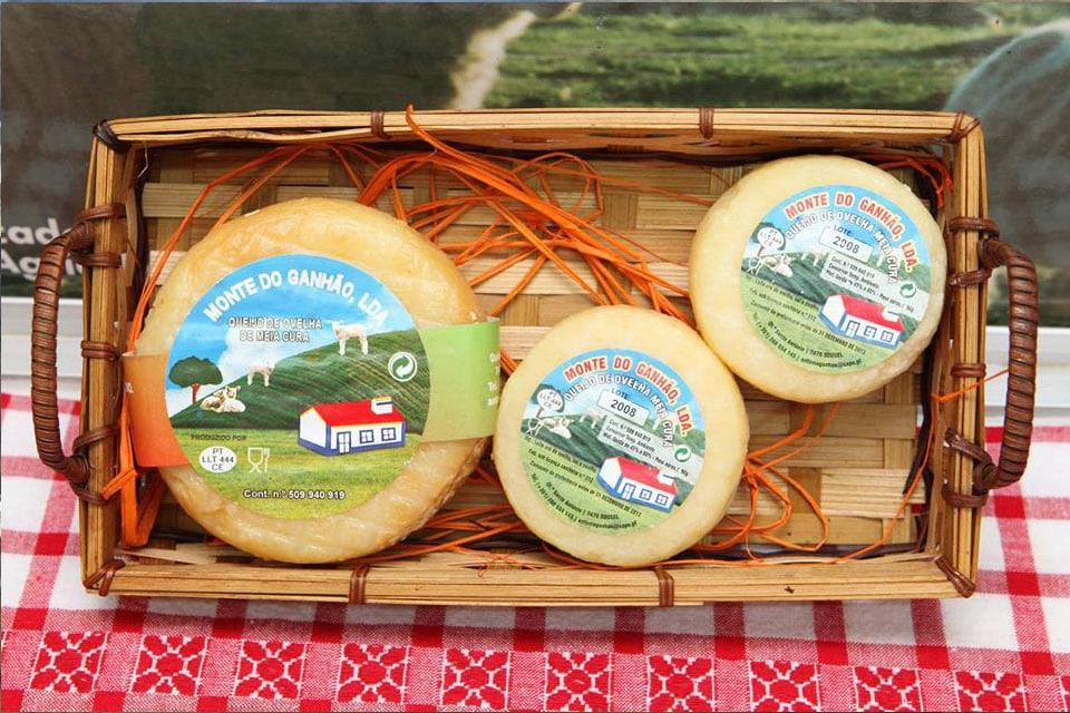 queijos de ovelha do monte do ganhão