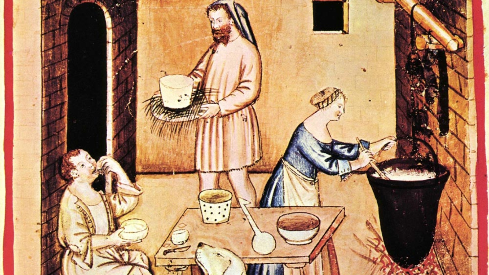 9-alimenti,_formaggi,Taccuino_Sanitatis,_Casanatense_4182.